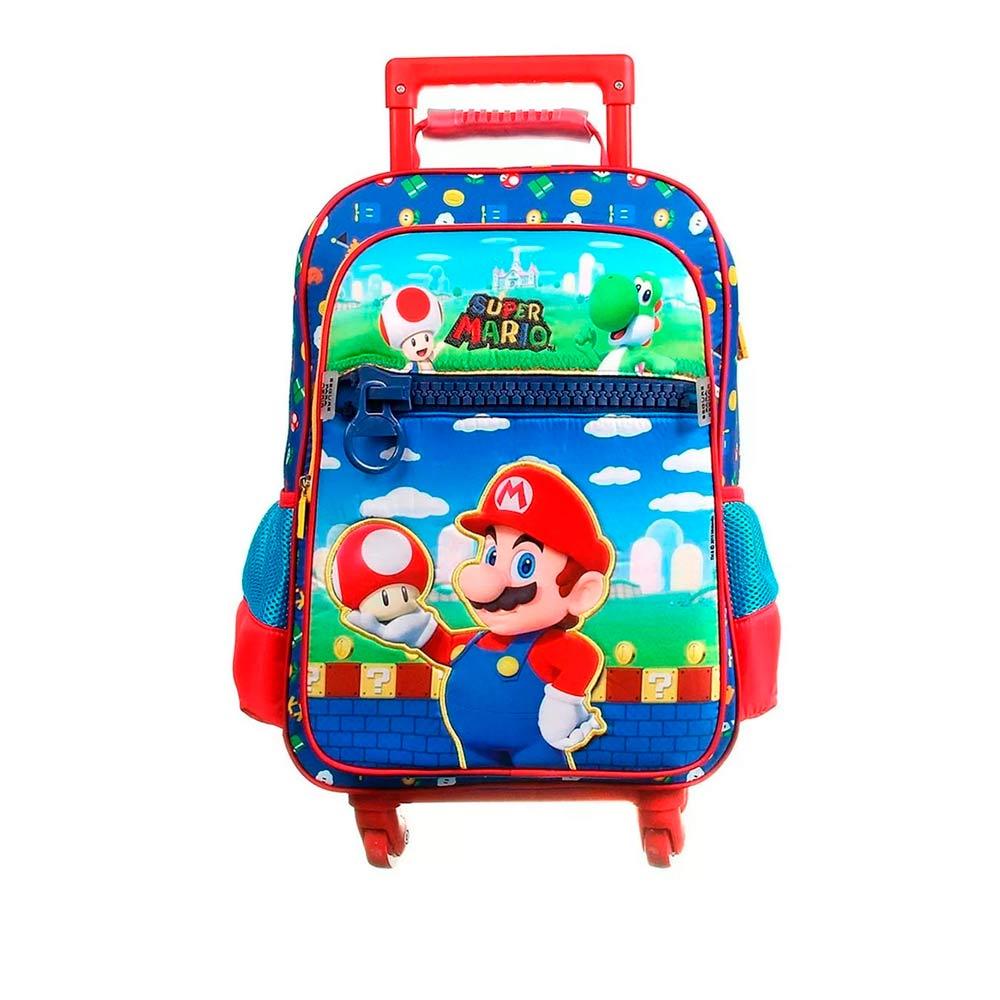 Mochila-Infantil-Super-Mario-Escolar-G-com-Rodinhas-360