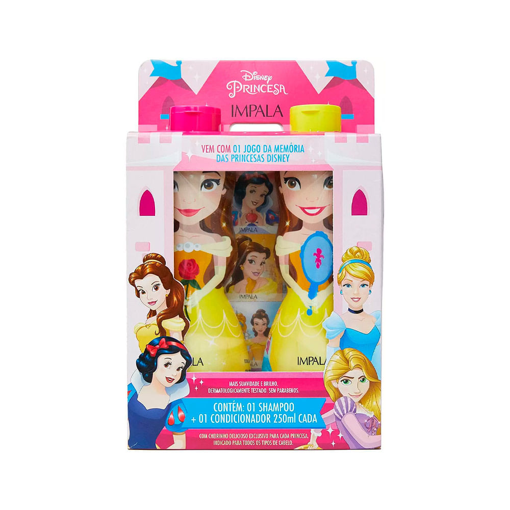 Kit-Shampoo---Condicionador-Infantil-Disney-Princesa-Bela--18386--INV21-