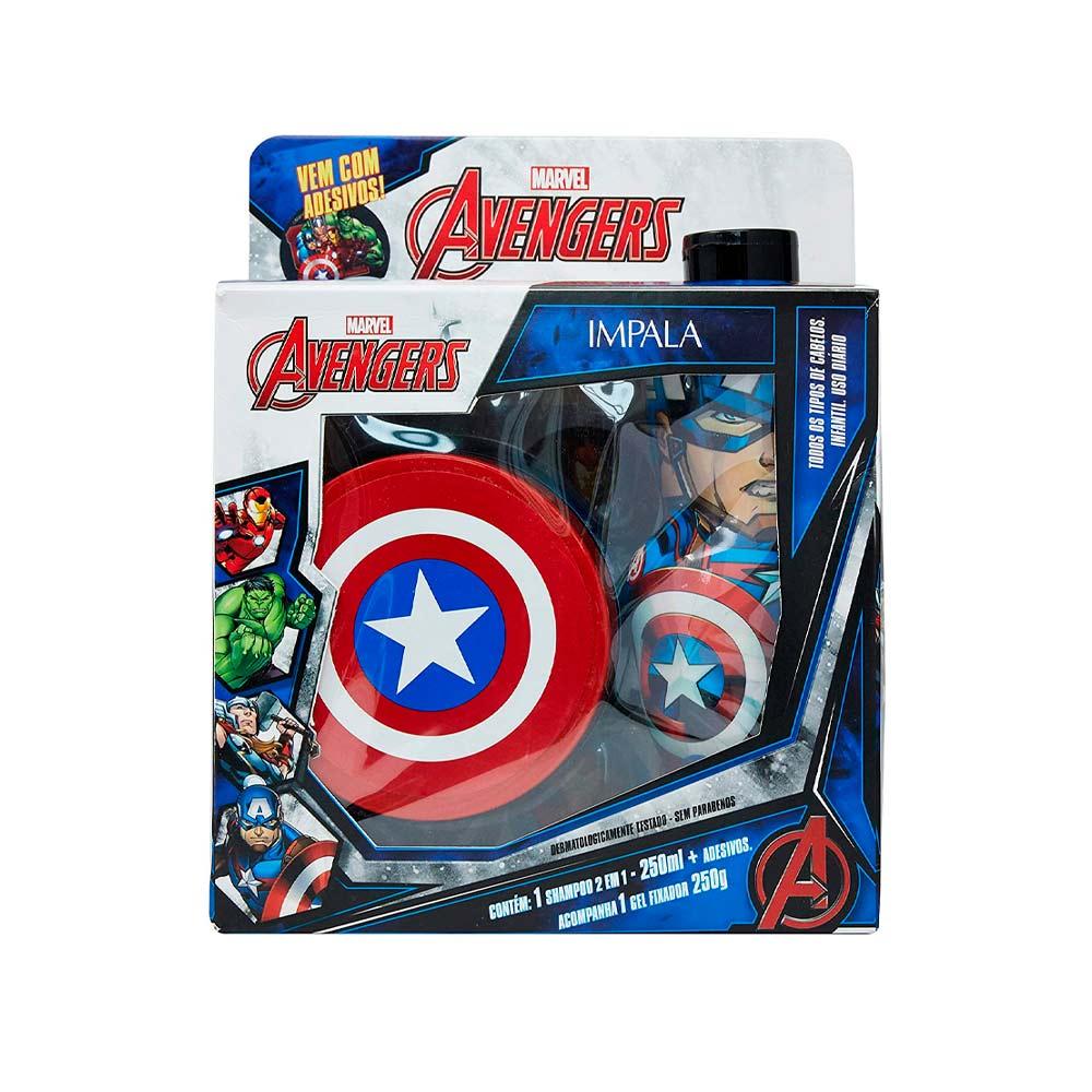 Kit-Marvel-Avengers-Capitao-America-Shampoo-2-em-1---Gel-18300--INV21-