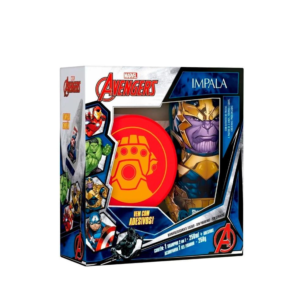 Kit-Marvel-Avengers-Thanos-Shampoo-2-em-1---Gel-18325--INV21-
