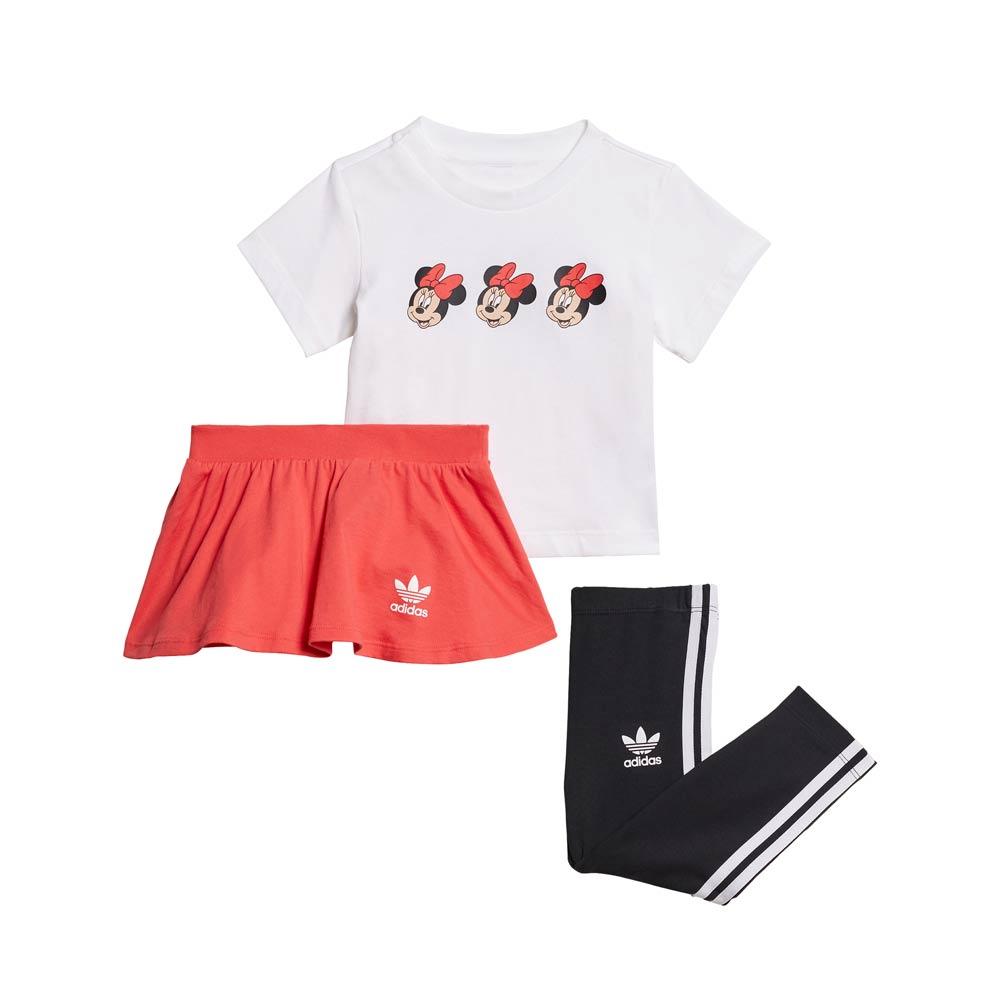 Conjunto-Infantil-Adidas-Skirt-Tee-Set-Minnie-Mouse--18M-4A--H20326--3Q21-
