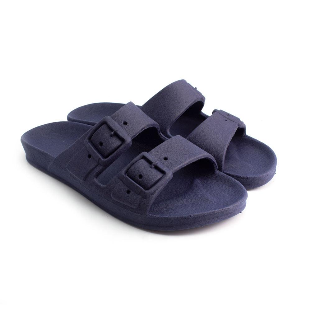 Sandalia-Ludique-et-Badin-Birken-PVC-Azul-Marinho--33-ao-40--BA2101--VER22-