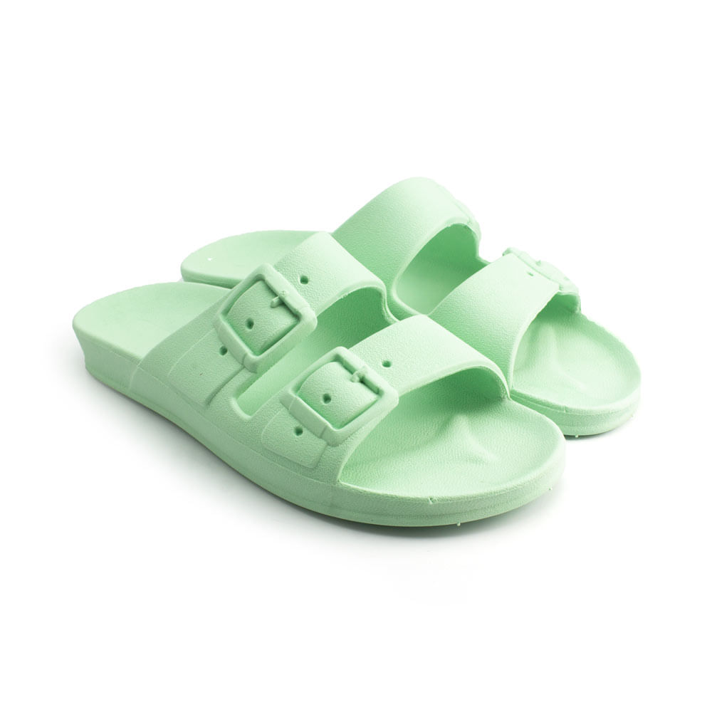 Sandalia-Ludique-et-Badin-Birken-PVC-Jade--33-ao-40--BA2101--VER22-