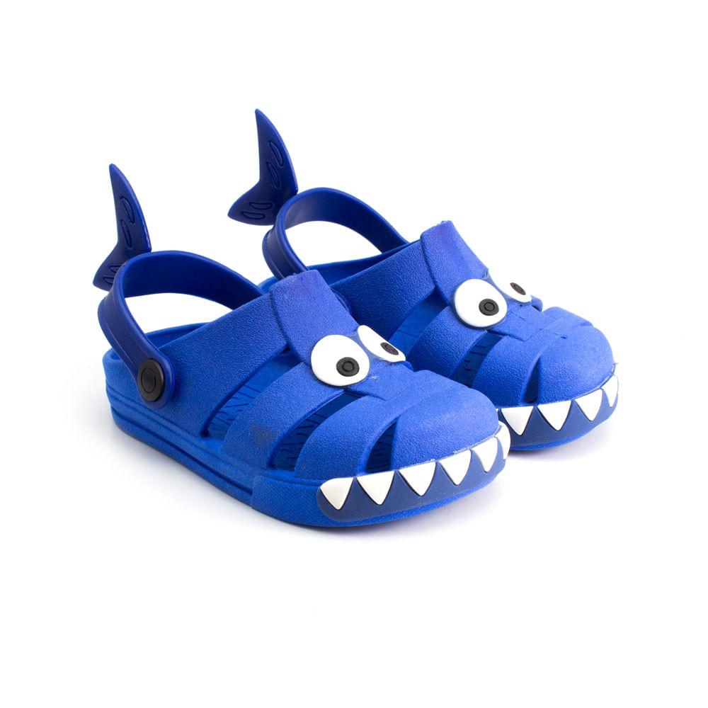 Babuche-Infantil-Ludique-et-Badin-Play-Shark-Boys--19-ao-30--23042--VER22-