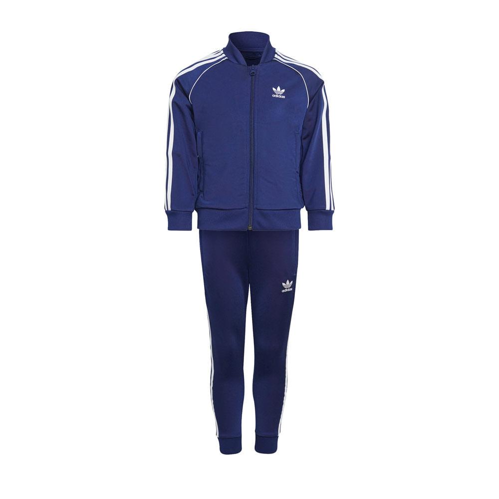 Conjunto-Infantil-Adidas-Adicolor-Track-Suit--4-7A--H25264--2T21-