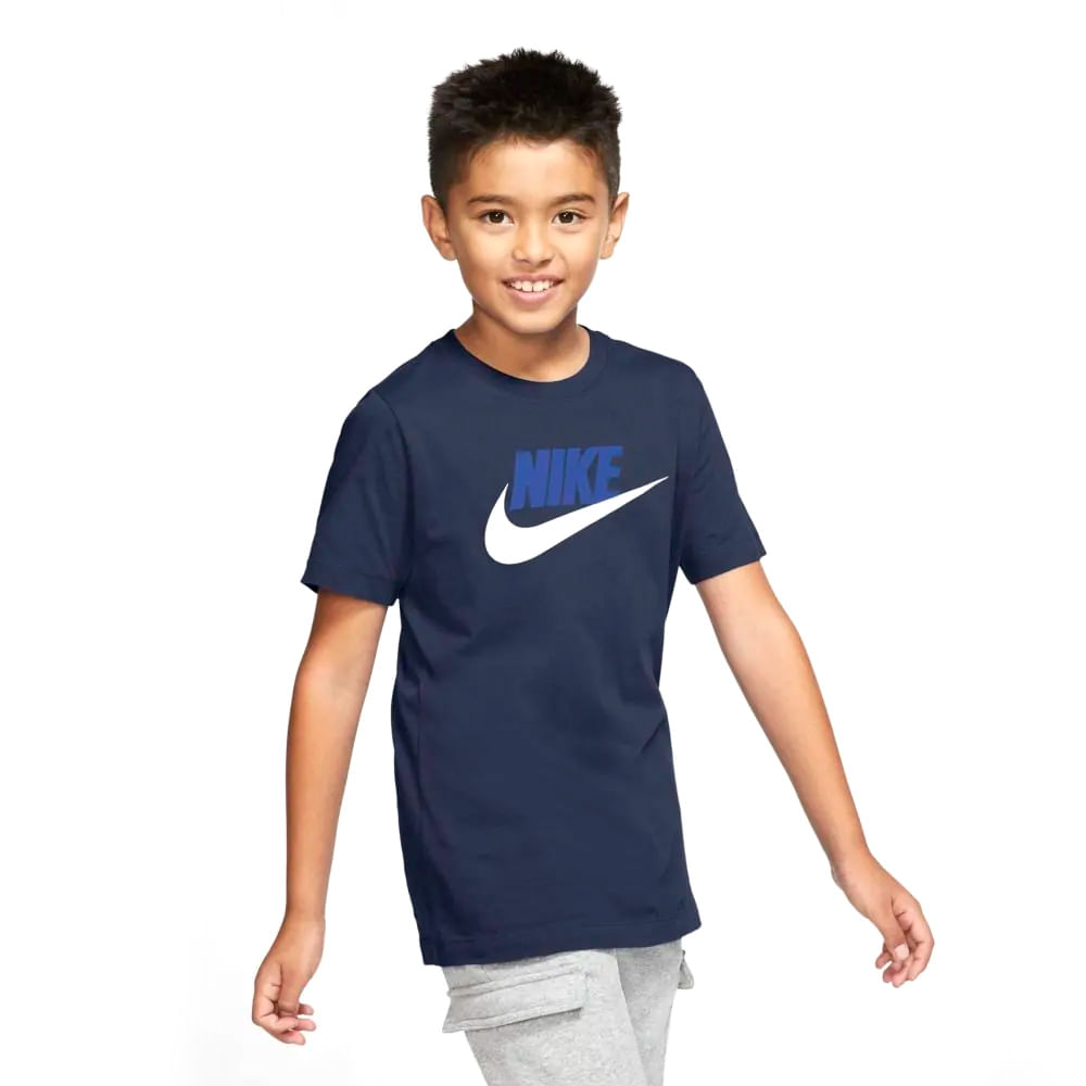 Camiseta-Infantil-Nike-Sportswear-Tee-Futura--XS-ao-L--AR5252-411--3Q21-