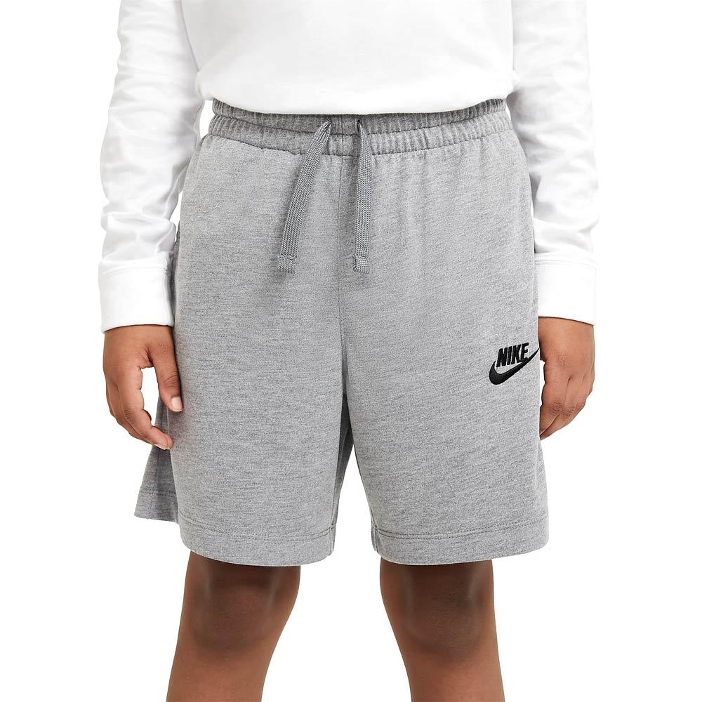 Bermuda-Infantil-Nike-Sportswear-Jersey--XS-ao-L--DA0806-091--3Q21-